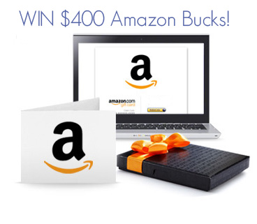 Enter the $400 Amazon Gift Card Giveaway!